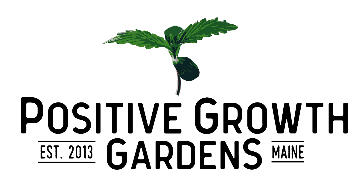Positive Growth Gardens logo